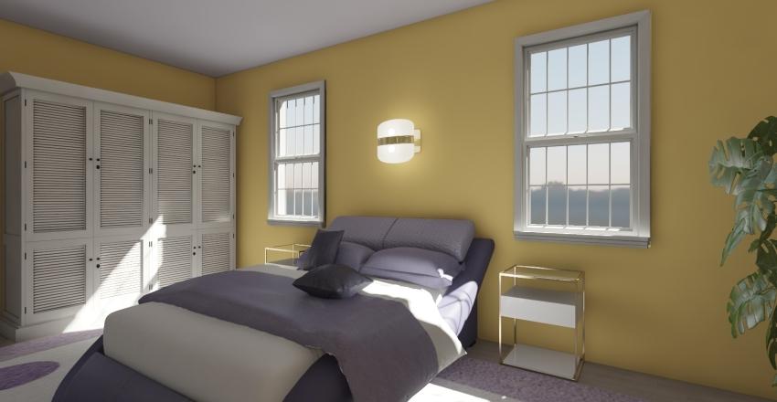Violet Bedroom 44 Interior Design Render