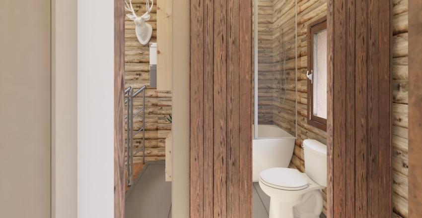 Tree House Interior Design Render