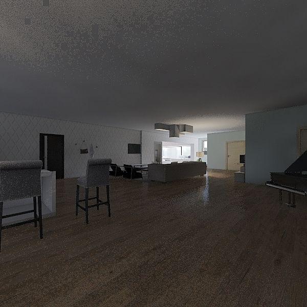 PISO PEQUEÑO Interior Design Render