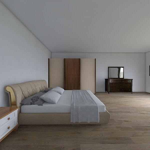 غرفة نوم 1 Interior Design Render