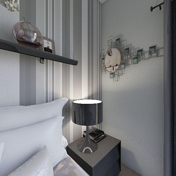 Camera Matrimoniale Interior Design Render