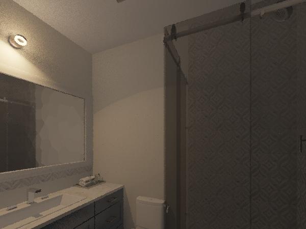 Reforma de banheiro Interior Design Render