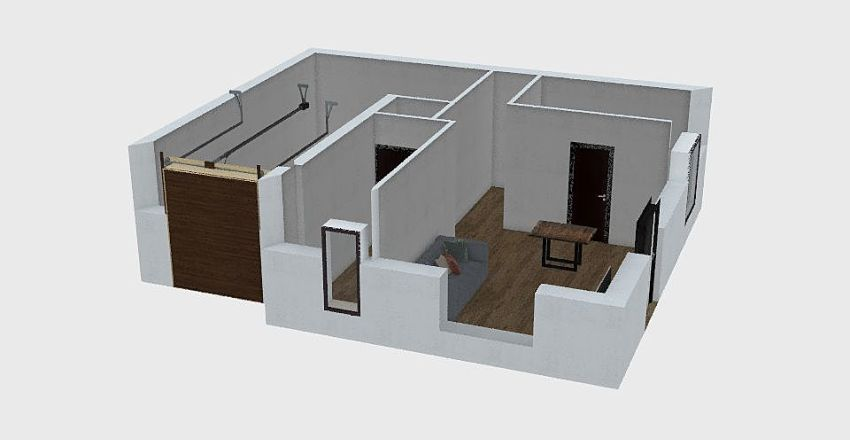 Casa SanSecondo Interior Design Render