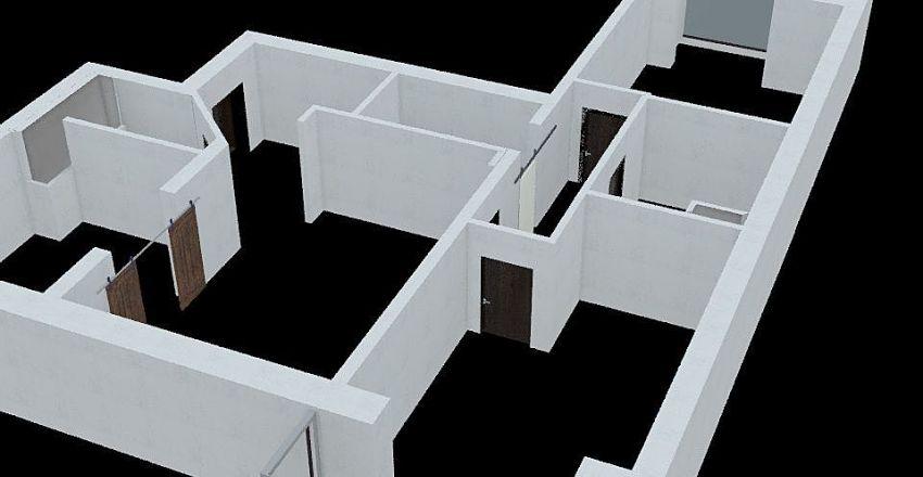 план кв.№1 Interior Design Render