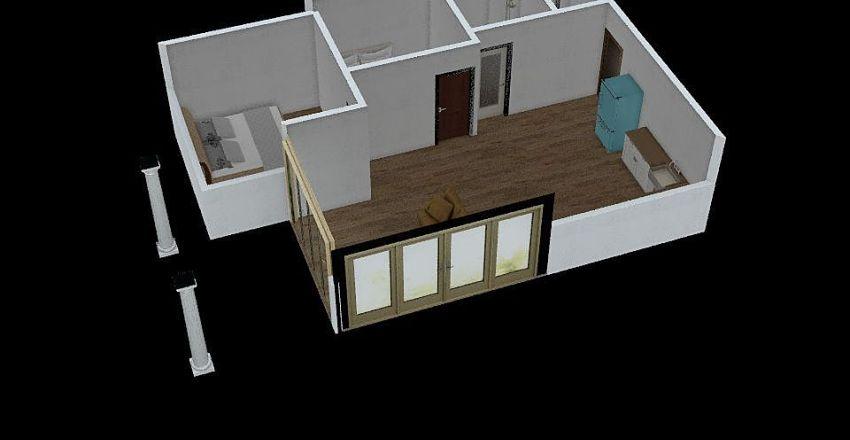 บ้านขายของ Interior Design Render