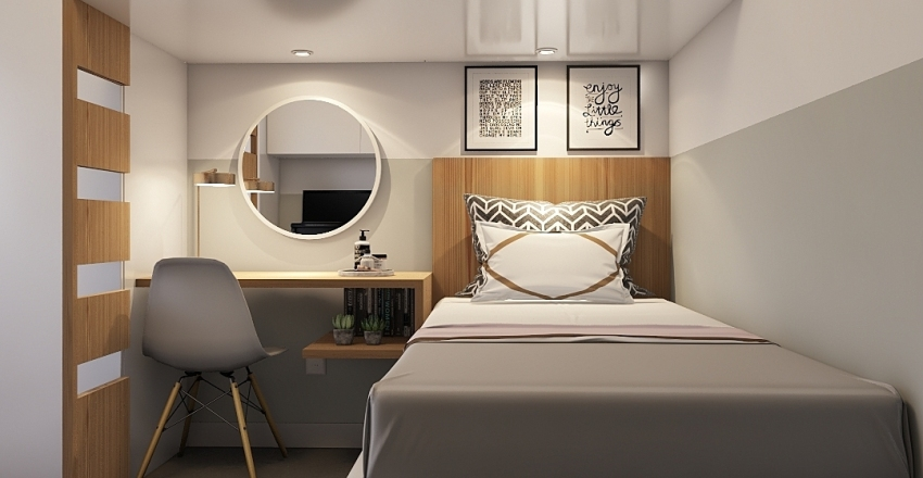 QUARTO | THU | Interior Design Render