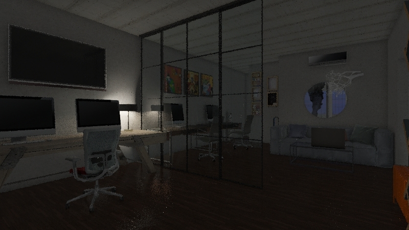 as Interior Design Render