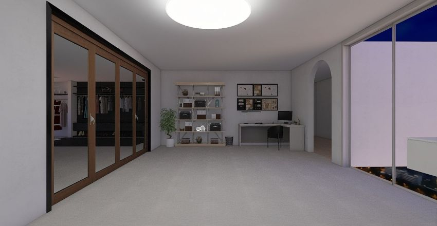 Dream Closet Interior Design Render