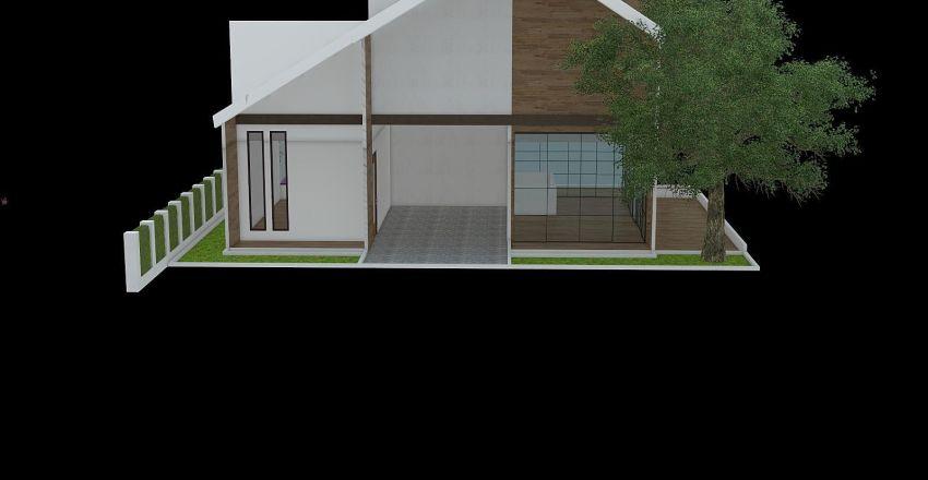 Aqua Interior Design Render