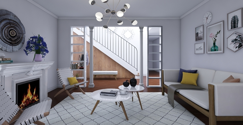 Journey Home Interior Design Render