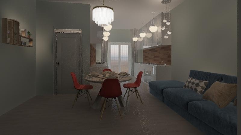 кв37 Interior Design Render