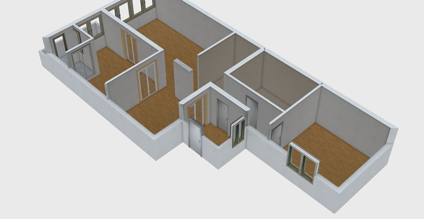 stan44538dečanska21 Interior Design Render