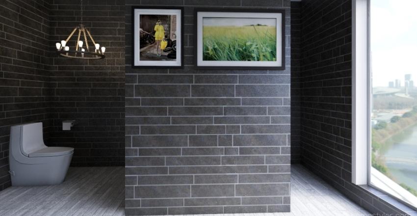 Random Cute House Interior Design Render