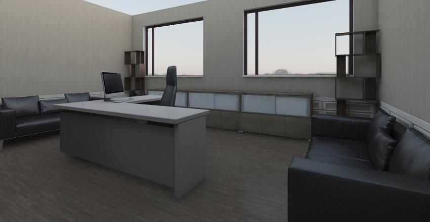 Приемная Interior Design Render