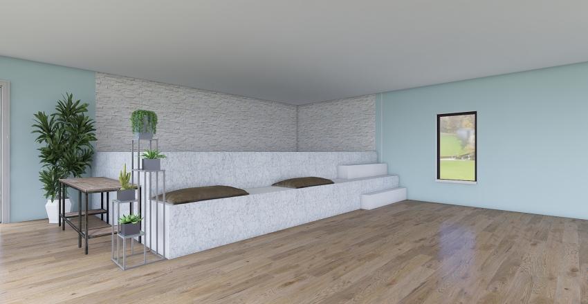 Piscina Spa Interior Design Render
