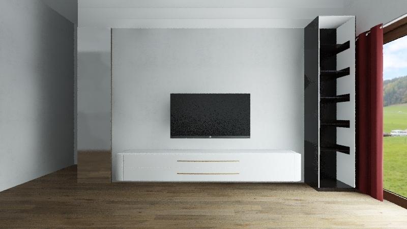 客廳 Interior Design Render