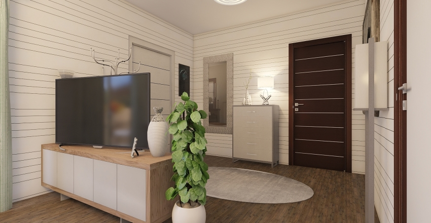 small house2 Interior Design Render