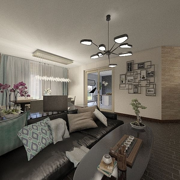КАРТИРА1 Interior Design Render