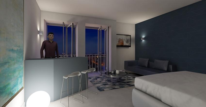 PAS8ANDREA CORALLO Interior Design Render
