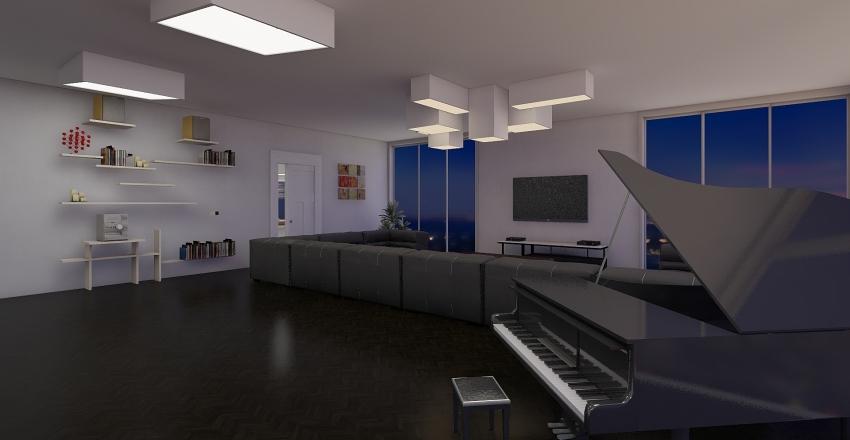Gtop's house 3 floor Interior Design Render