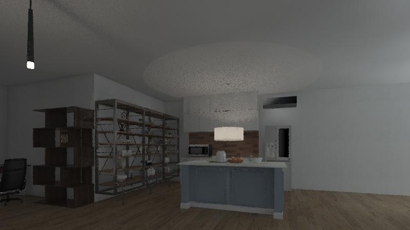 civer y videojuegos Interior Design Render