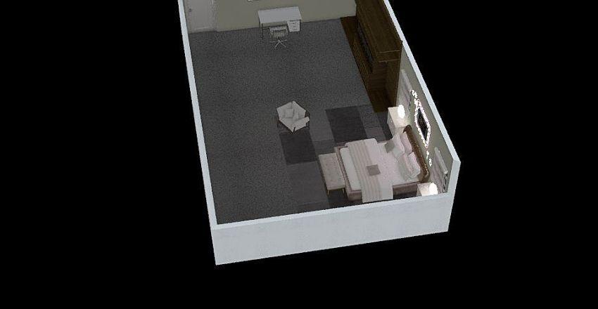 Brooklyn Curtis Dream Bedroom Interior Design Render