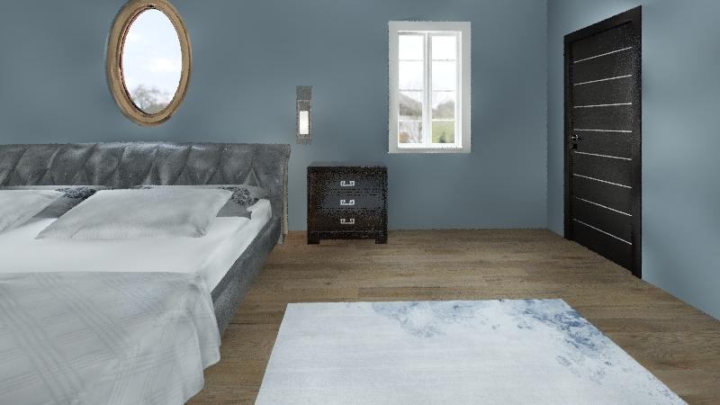 Emma Gabrish Dream bedroom Interior Design Render