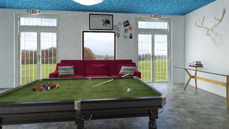 Anthony Alexandre Interior Design Render