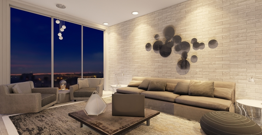Baxter Luxury Suite Interior Design Render