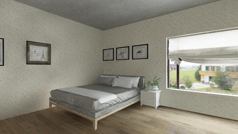 Kaitlyn's Bedroom Interior Design Render