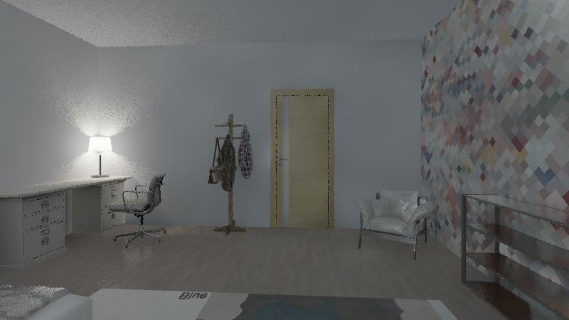 Jorilyn Herzog Dream Bedroom Interior Design Render