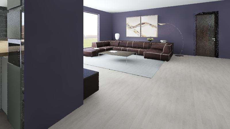 гостинная Interior Design Render