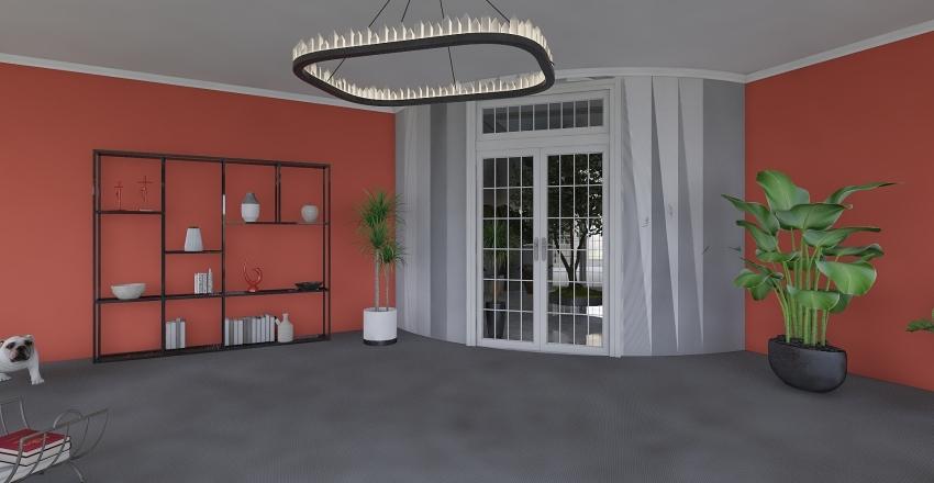 Round and Round... Interior Design Render