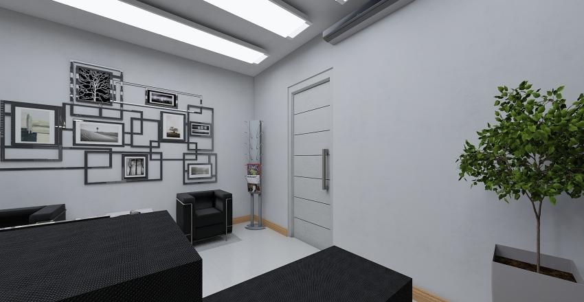 Escritório Pequeno  Interior Design Render