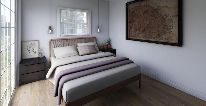 Apartment Interior Design Render