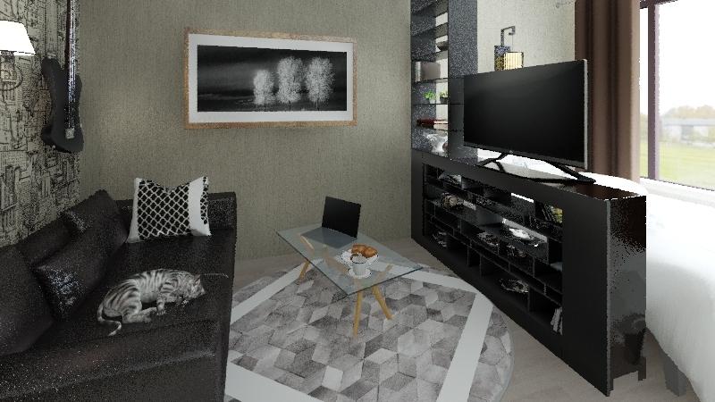 vertolet Interior Design Render
