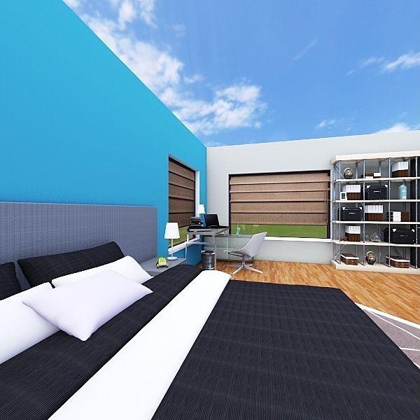 Nathan Seeley dream bedroom Interior Design Render