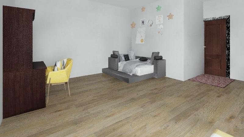 Hiva VAka Dream Bedroon Interior Design Render