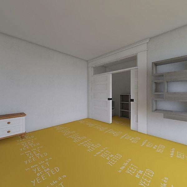 Jack's room Interior Design Render