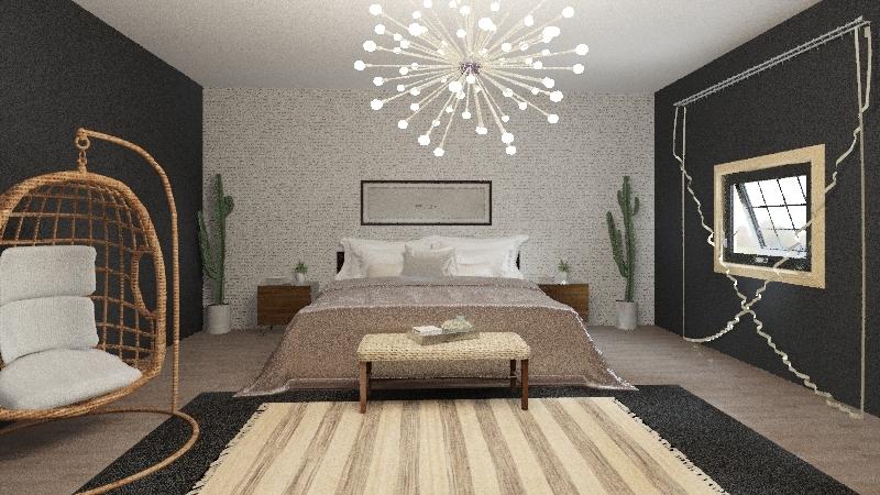 Olivia Jensen Dream Bedroom Interior Design Render