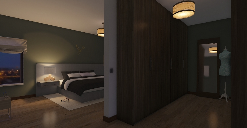 Aparmento Interior Design Render