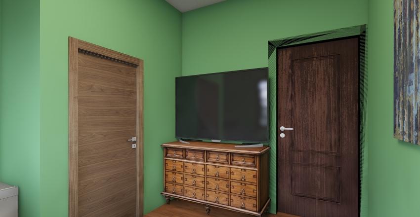 My Ultimate Dorm Interior Design Render