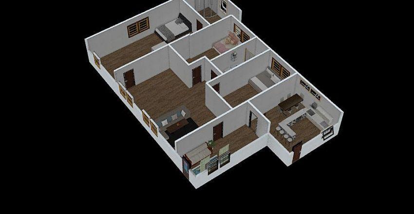 jo house Interior Design Render