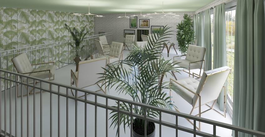 L'Tropic Caffe Disco Interior Design Render