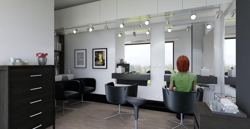 Peluqueria Bengoa Interior Design Render