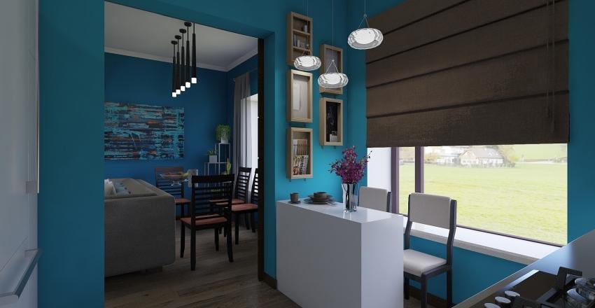 план квартиры 1 Interior Design Render