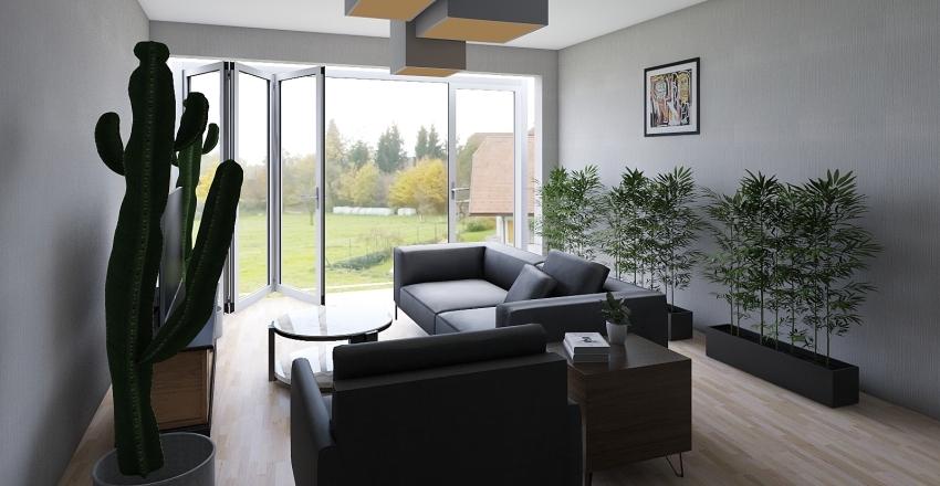 Cuarto 1 Interior Design Render