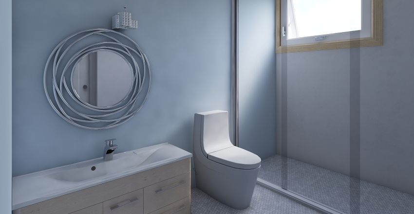 Tarea 1 Bathroom Interior Design Render