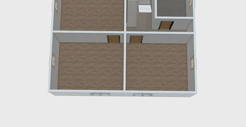 Smržice pokroví Interior Design Render