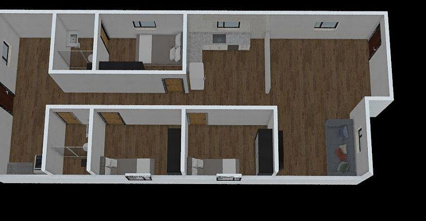 casa 01 Interior Design Render